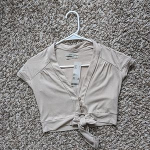 NWT URBAN OUTFITTERS tie knot crop top
